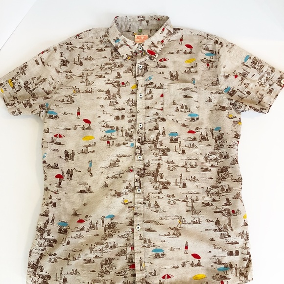 0e2ded5c Lost at Sea Other - Men's Lost At Sea Buttondown Shirt Size XL